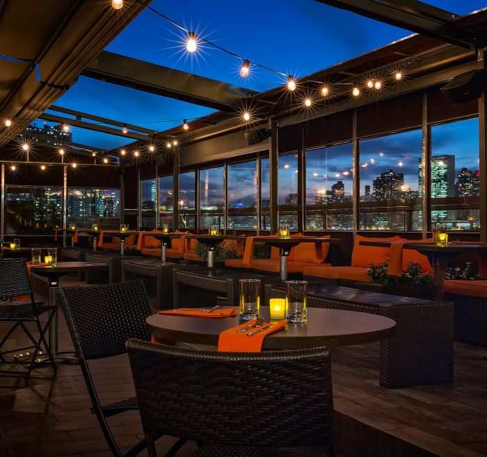 Long Island City Rooftop Restaurant Bar Penthouse 808 Ravel Hotel