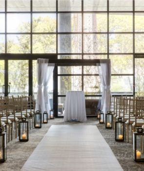 Wedding Ceremony Venue at the Ravel Hotel in Long Island City, NYC.